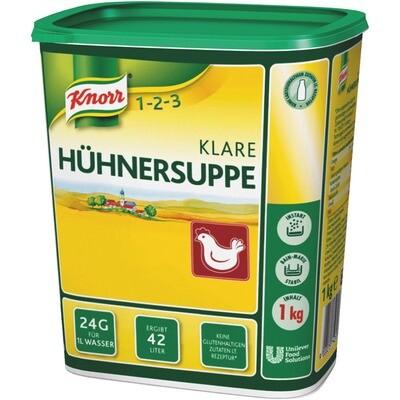 Grosspackung Knorr Klare Hühnersuppe 1 kg