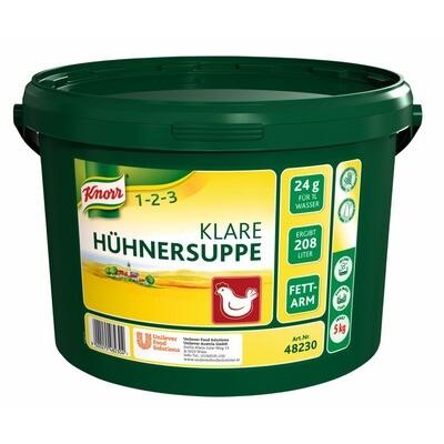 Grosspackung Knorr Klare Hühnersuppe 5 kg