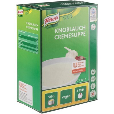 Grosspackung Knorr Knoblauch Cremesuppe 2,7 kg
