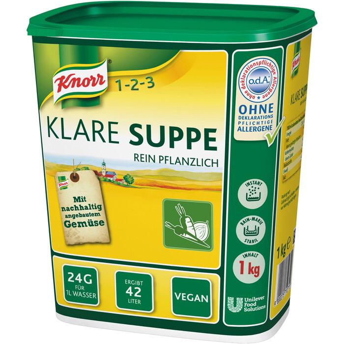 Grosspackung Knorr Klare Suppe 1 kg