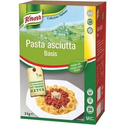 Grosspackung Knorr Pasta Asciutta Basis 3 kg