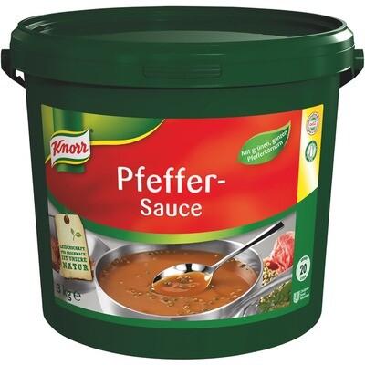 Grosspackung Knorr Pfeffer Sauce 3 kg