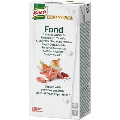 Grosspackung Knorr Professional Fond Krustentier 8 x 1 l = 8 Liter