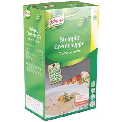 Grosspackung Knorr Steinpilz Cremesuppe 2,75 kg