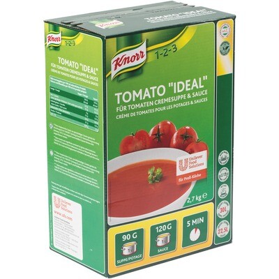 Grosspackung Knorr Tomato Ideal Tomatencremesuppe 2,7 kg