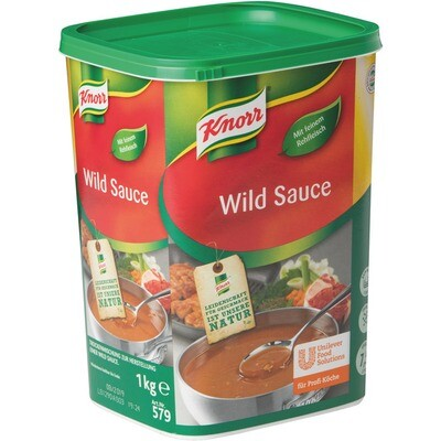 Grosspackung Knorr Wild Sauce 1 kg