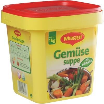 Grosspackung Maggi Gemüsesuppe rein pflanzlich 1 kg
