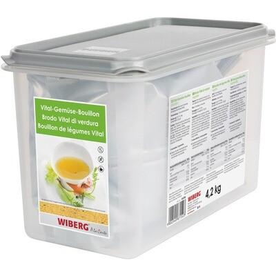 Grosspackung Wiberg Vital-Gemüse-Bouillon 1,6 l