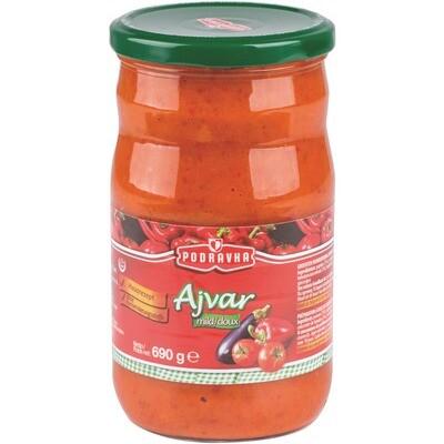 Grosspackung Ajvar Gemüsemischung mild 12 x 690 g = 8,28 kg