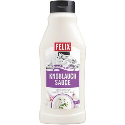 Grosspackung Felix Sauce Knoblauch 8 x 1,1 l = 8,8 Liter