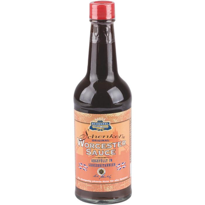 Grosspackung Schenkel Worcester Sauce 12 x 300 ml = 3,6 Liter