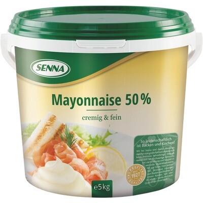 Grosspackung Senna Mayonnaise 50% Fett 5 kg