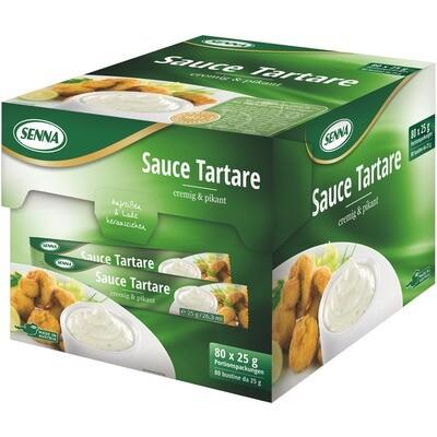 Grosspackung Senna Sauce Tartare Portionen 80 x 25 g
