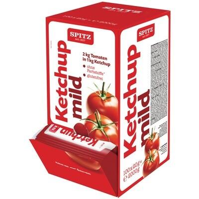 Grosspackung Spitz Ketchup mild Portionen 100 x 20 g