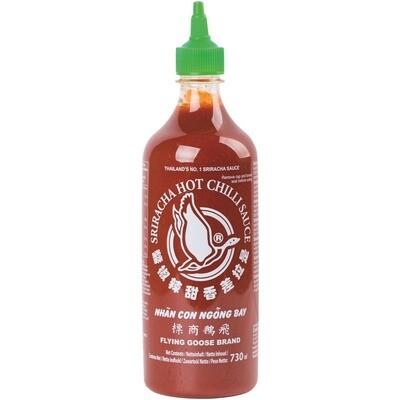 Grosspackung Sriracha Chili Sauce original 12 x 730 ml = 8,76 Liter