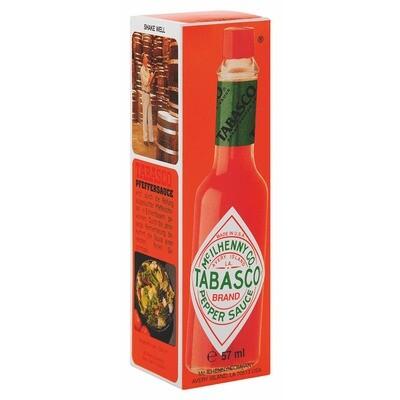 Grosspackung Tabasco Pfeffersauce 12 x 57 ml = 0,684 Liter