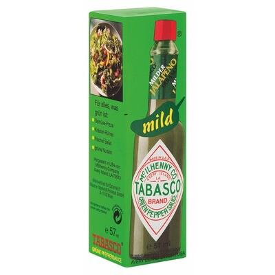 Grosspackung Tabasco Sauce Jalapenos 12 x 57 ml = 0,684 Liter