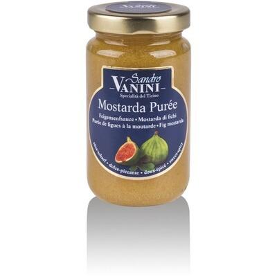 Grosspackung Vanini Feigen Senf 8 x 200ml = 1,6 Liter