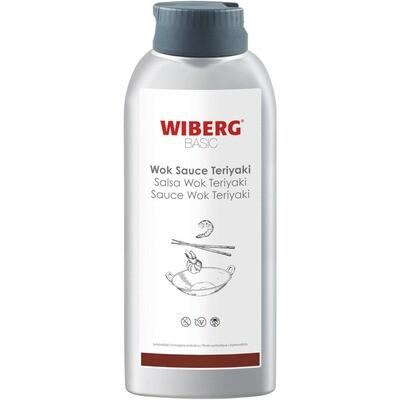 Grosspackung Wiberg Basic Wok Sauce Teriyaki 3 x 800 g = 2,4 kg