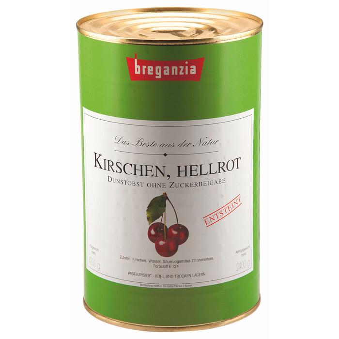 Grosspackung Breganzia Dunstkirschen ohne Stein 2,4 kg