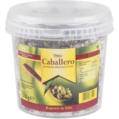 Outlet: Grosspackung Caballero Salzkapern Kübel 1,2 kg