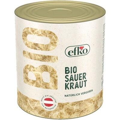 Grosspackung Efko Bio Sauerkraut 2,6 kg