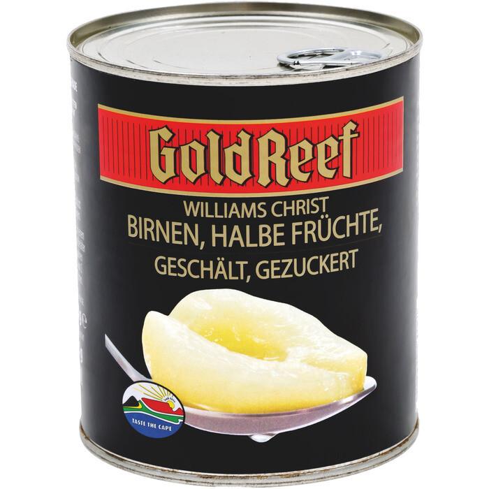 Grosspackung Gold Reef Birnenhälften 6 x 850 ml