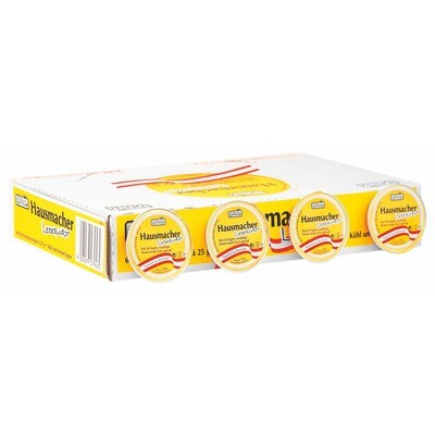 Grosspackung Ham Hausmacher Leberwurst Aufstrich60x25 g= 1,5 kg