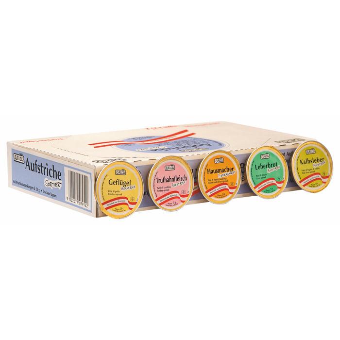 Grosspackung  Ham Multi Pack sortiert 60x25 g= 1,5 kg