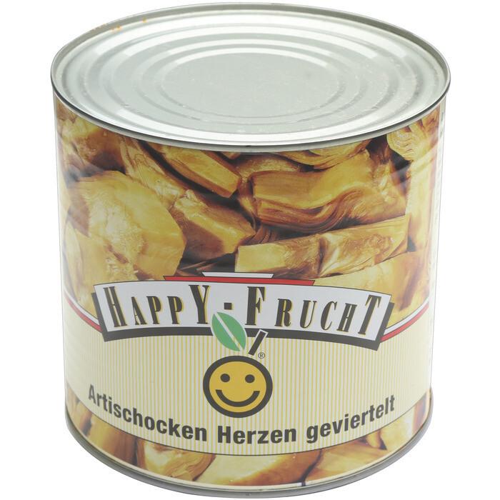 Grosspackung Happy Frucht Artischockenstücke 6 x 1,35 kg = 8,1 kg