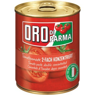 Grosspackung Oro di Parma Tomatenmark 2-Fach konzentriert 6 x 850 g = 5,1 kg
