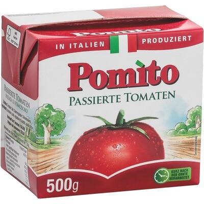 Grosspackung Pomito Passierte Tomaten 12 x 500 g = 6 kg