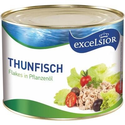 Grosspackung Pizza Thunfisch / Thon in Öl 1,7 kg