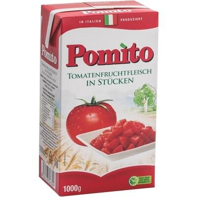 Grosspackung Pomito Tomaten in Stücke 12 x 1 kg = 12 kg