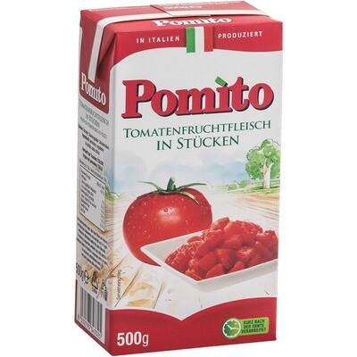 Grosspackung Pomito Tomaten in Stücke 12 x 500 g = 6 kg