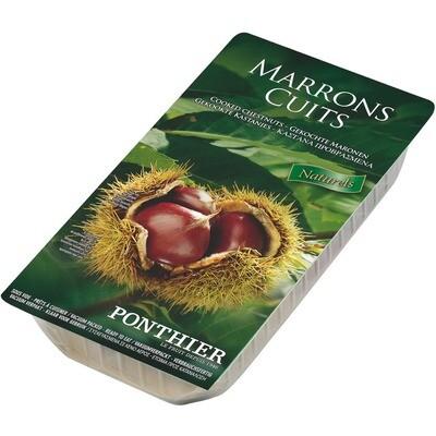 Grosspackung Ponthier Maronen / Maroni gekocht geschält 2 x 200 g