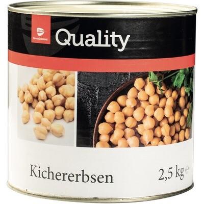 Grosspackung Quality Kichererbsen 6 x 1,5 kg = 9 kg