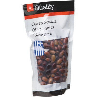 Grosspackung Quality Oliven Kalamata mit Kern Beutel 10 x 500 g = 5 kg