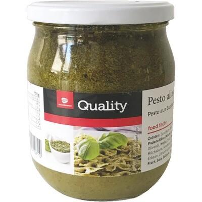 Grosspackung Quality Pesto alla Genovese 6 x 580 ml