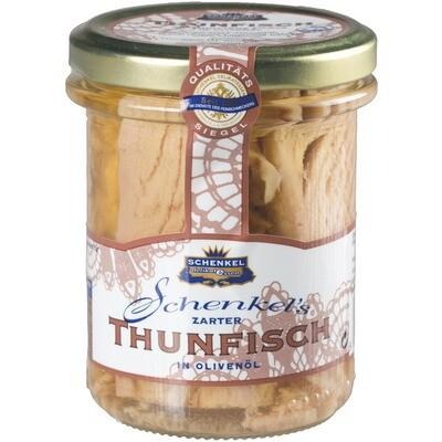 Grosspackung Schenkel Thunfisch in Olivenöl MSC 12 x 195 g