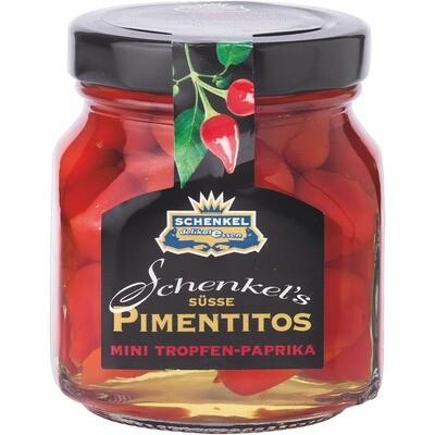 Grosspackung Schenkel Tropfenpaprika Pimentitos 12 x 145 g