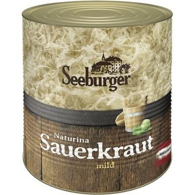 Grosspackung Seeburger Sauerkraut Dose 10 kg