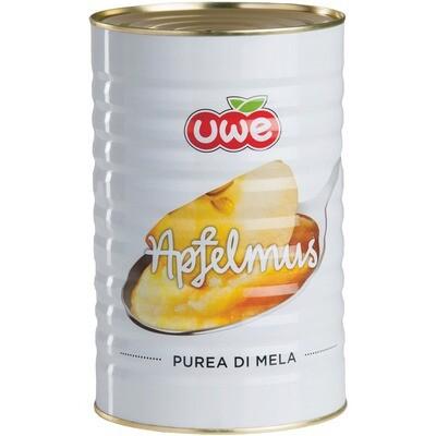 Grosspackung Uwe Apfelmus mit Zucker 4,4 kg