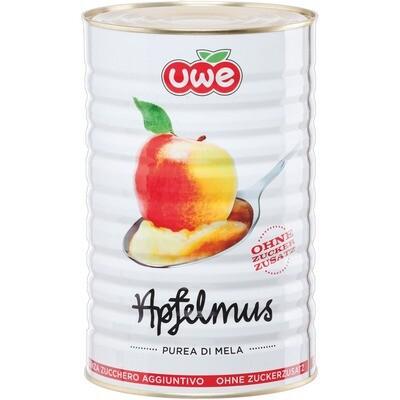 Grosspackung Uwe Apfelmus ohne Zucker 4,4 kg
