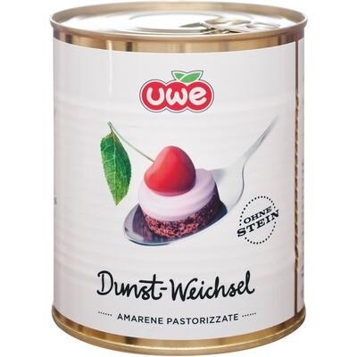 Grosspackung Uwe Dunst-Sauerkirschen 6 x 850 ml