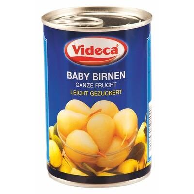 Grosspackung Videca Babybirnen Stiel 10/12 (6 x 425 ml)