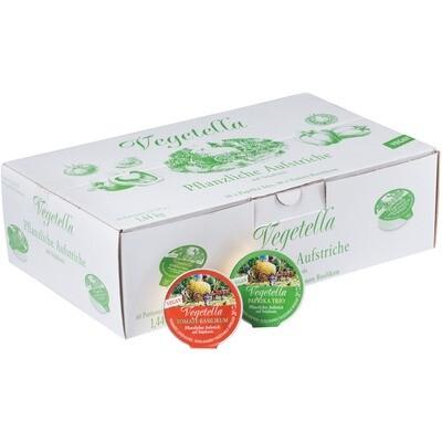 Grosspackung Vegetella Pflanzlicher Aufstrich auf Sojabasis 60 x 24 g