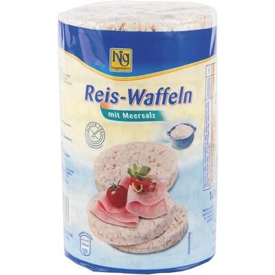 Grosspackung Hig Reiswaffel Meersalz 12 x 100 g = 1,2 kg
