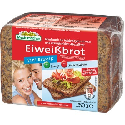 Grosspackung Mestemacher Eiweißbrot 9 x 250 g = 2,25 kg