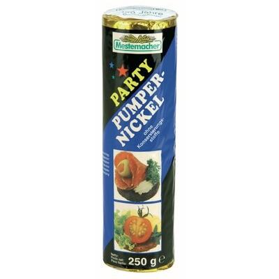 Grosspackung Mestemacher Party Pumpernickel Rolle 12 x 250 g = 3 kg